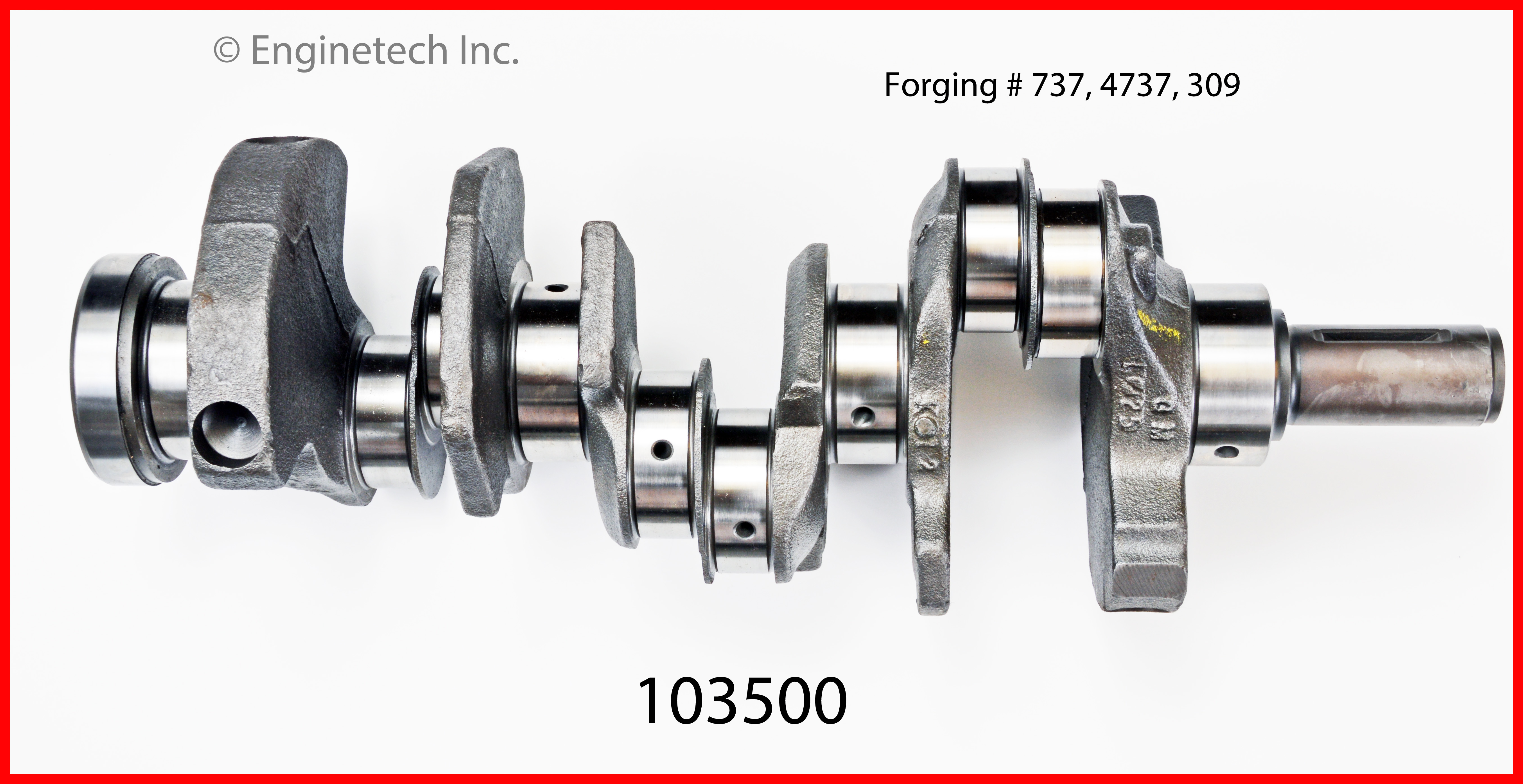 103500 Crank Kit - Reman Enginetech