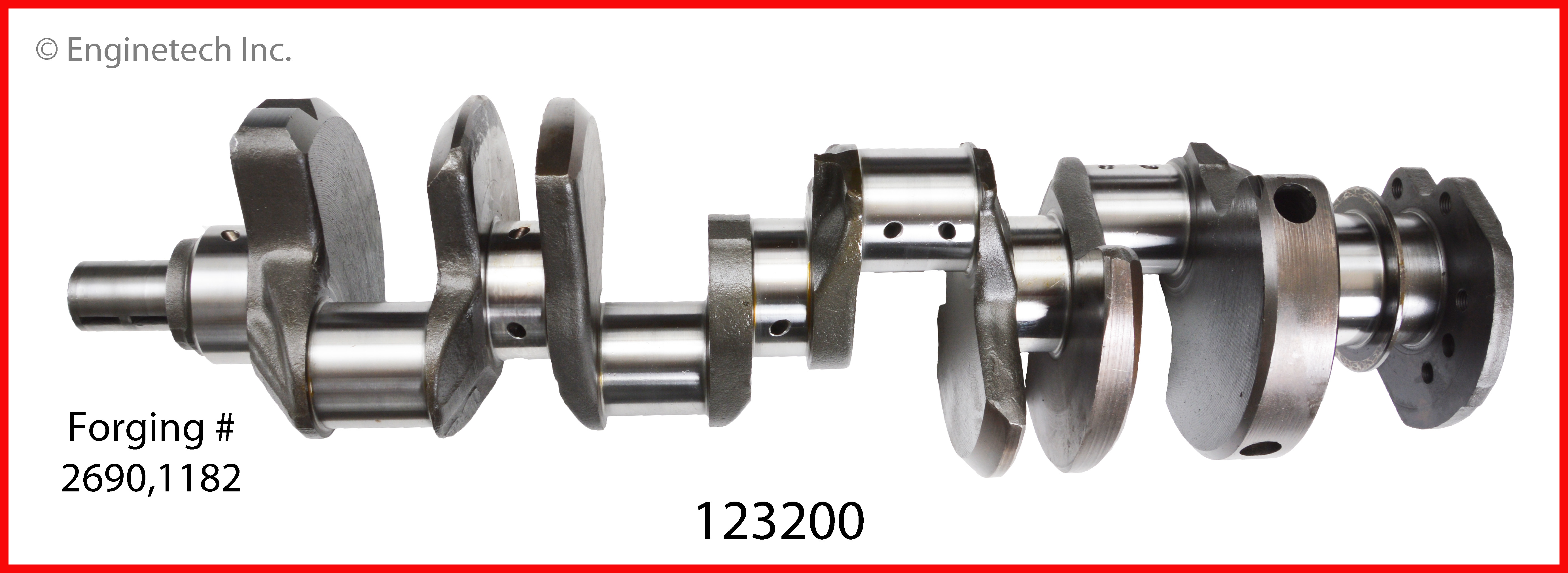 123200 Crank Kit - Reman Enginetech