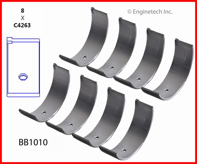 BB1010 Bearing Set - Rod Enginetech
