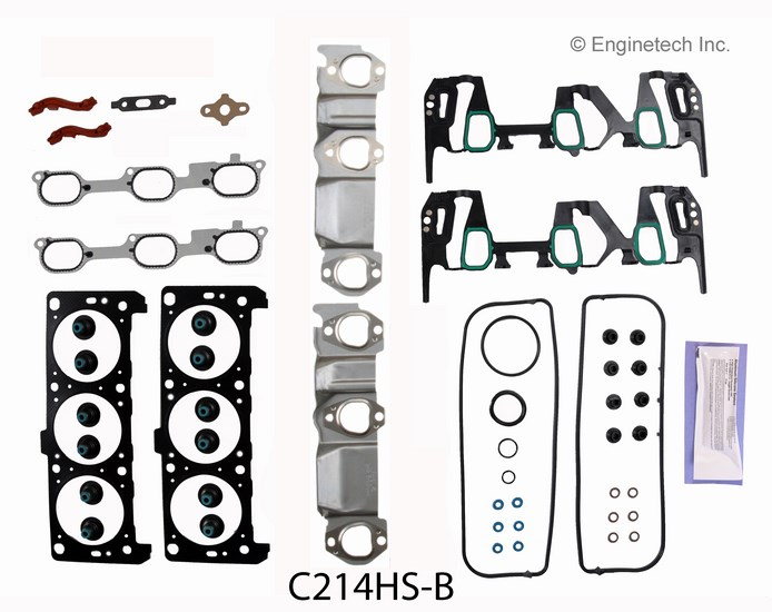 C214HS-B Gasket Set - Head Enginetech