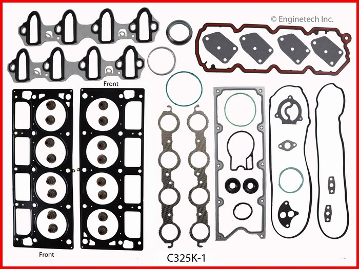 C325K-1 Gasket Set - Full Enginetech
