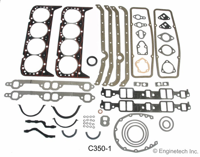 C350-1 Gasket Set - Full Enginetech