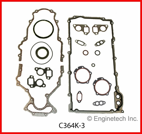 C364K-3 Gasket Set - Full Enginetech