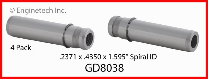 GD8038 Valve Guides Enginetech