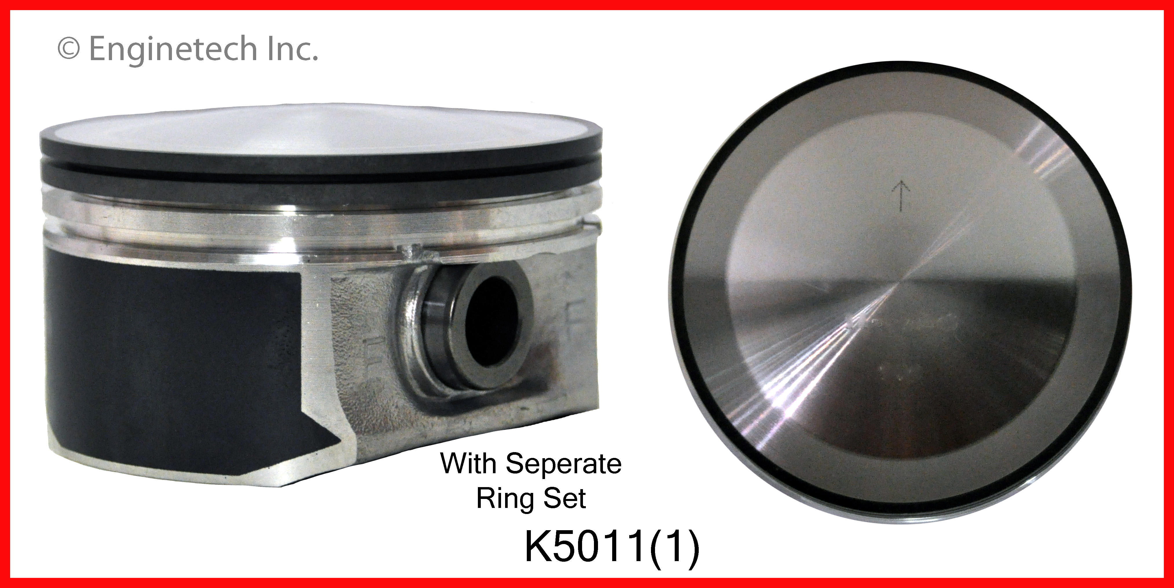 K5011(1) Piston And Ring Kit Enginetech