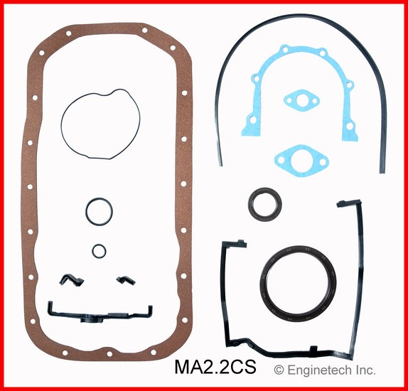 MA2.2CS Gasket Set - Lower Enginetech