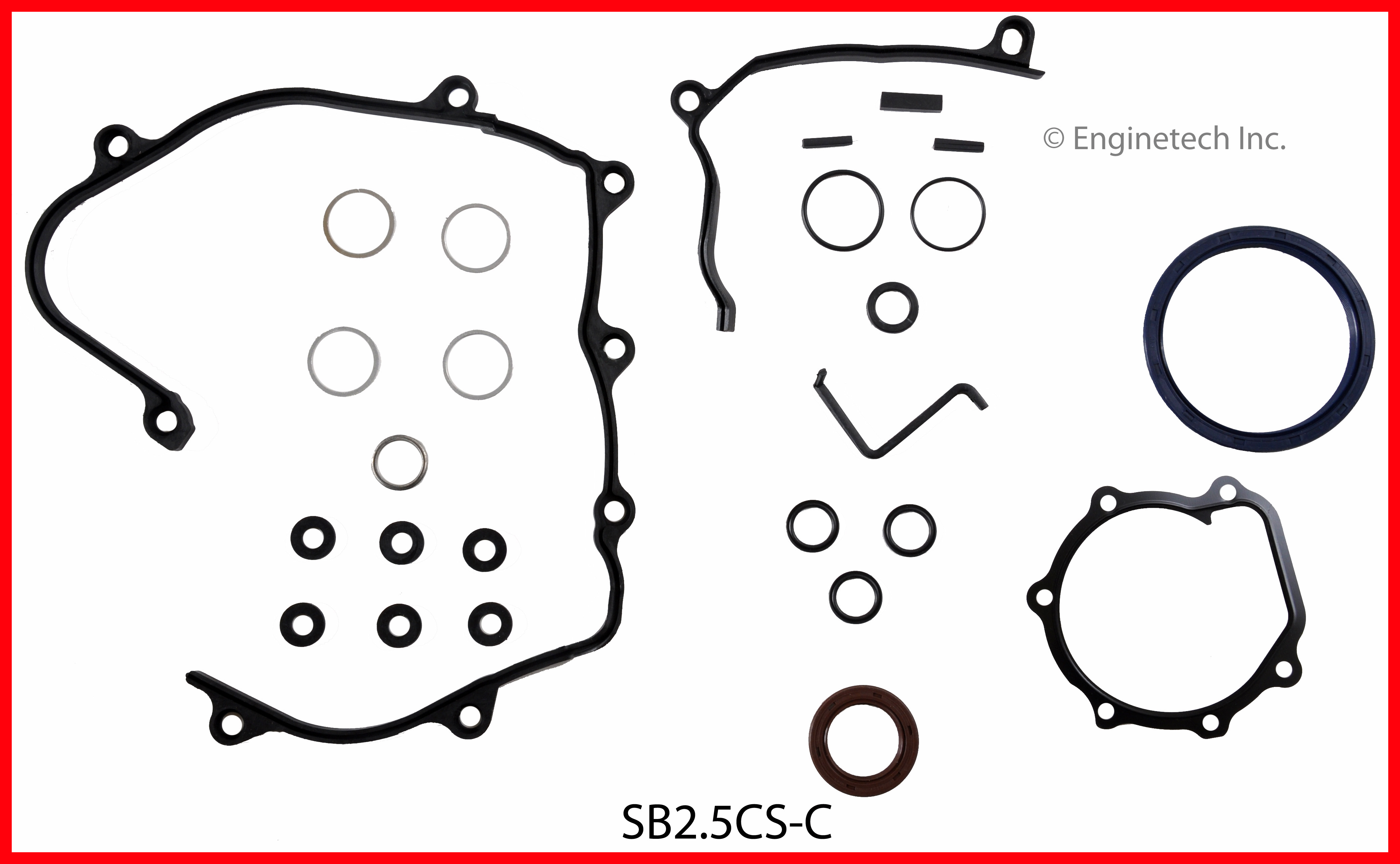 SB2.5CS-C Gasket Set - Lower Enginetech