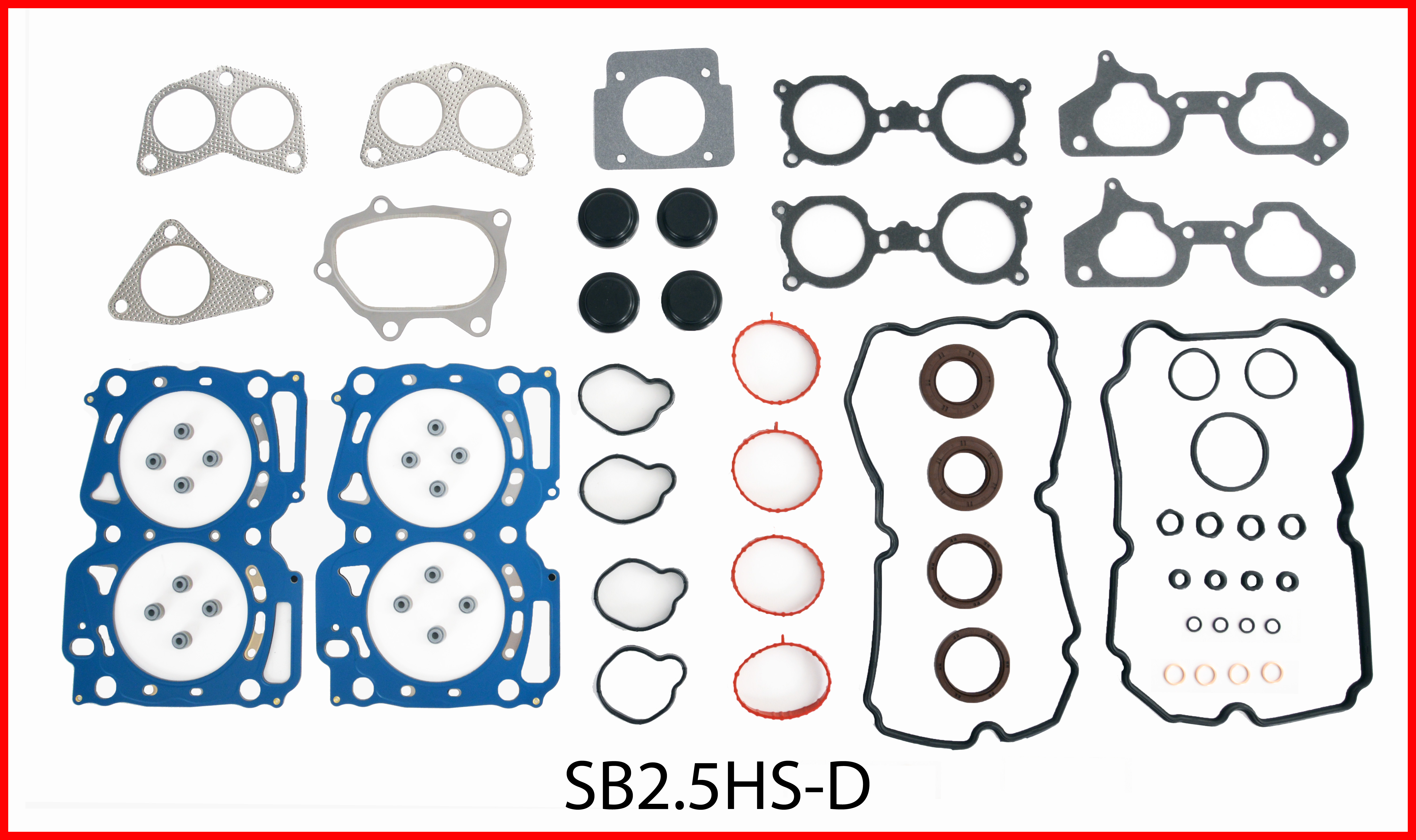 SB2.5HS-D Gasket Set - Head Enginetech