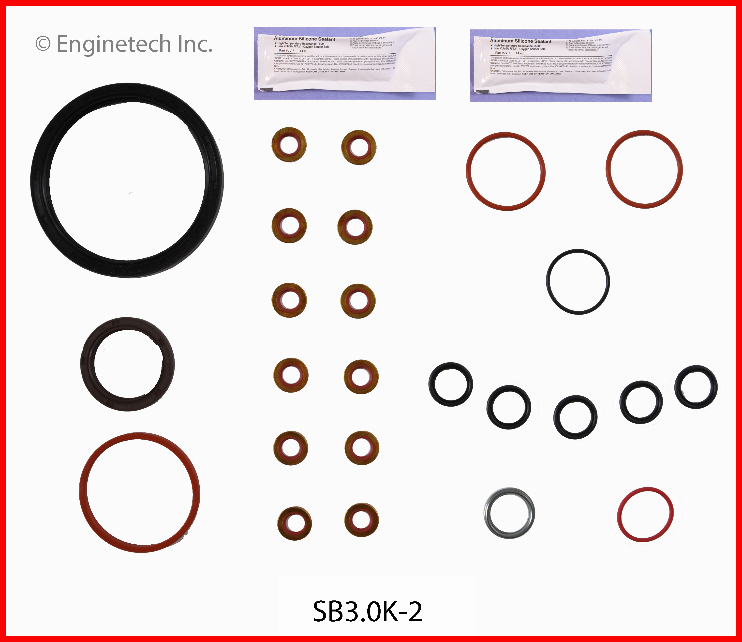 SB3.0K-2 Gasket Set - Full Enginetech