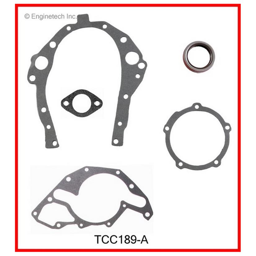 TCC189-A Gasket - Timing Cover Set Enginetech