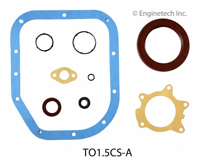 TO1.5CS-A Gasket Set - Lower Enginetech