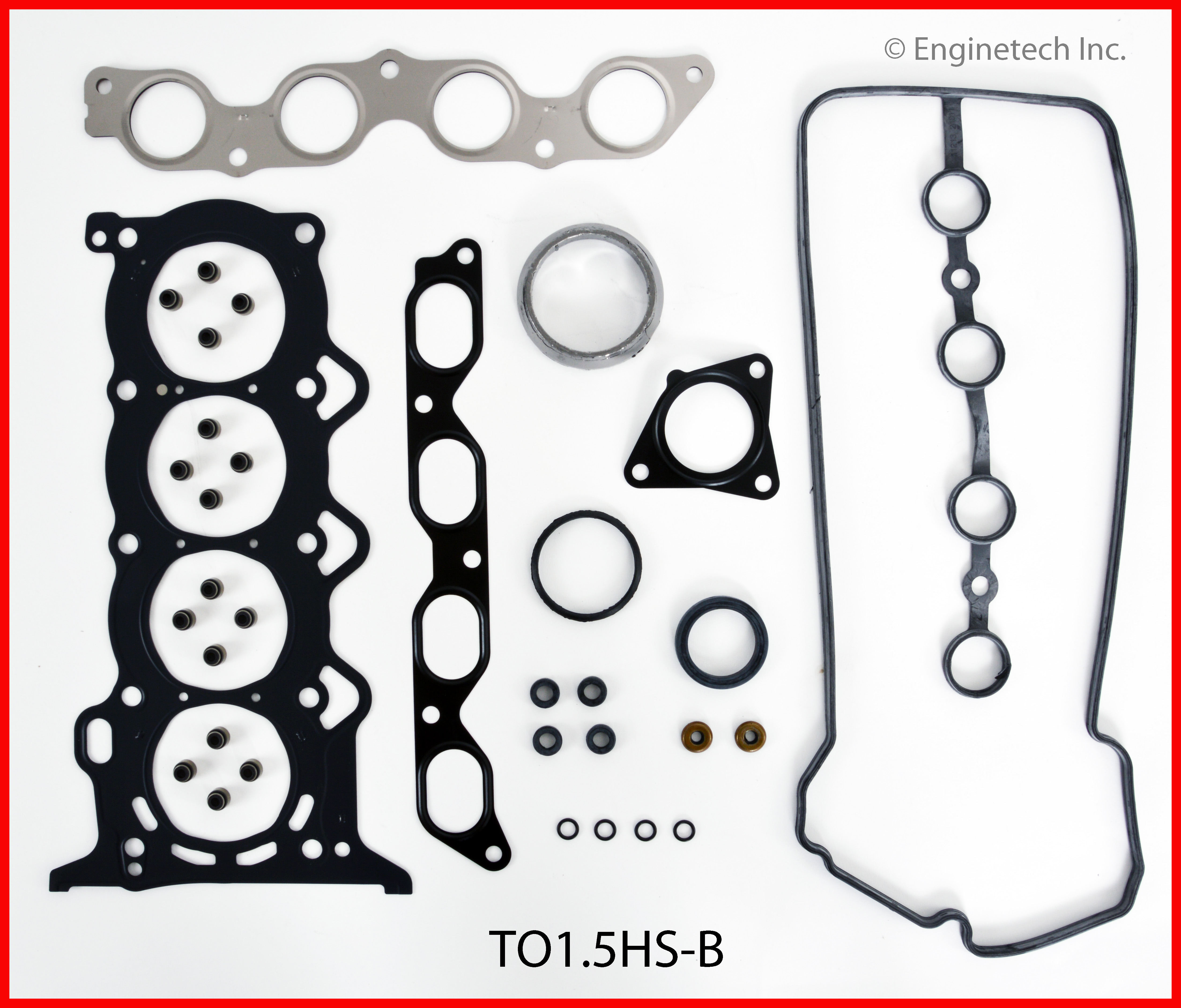 TO1.5HS-B Gasket Set - Head Enginetech
