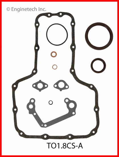 TO1.8CS-A Gasket Set - Lower Enginetech