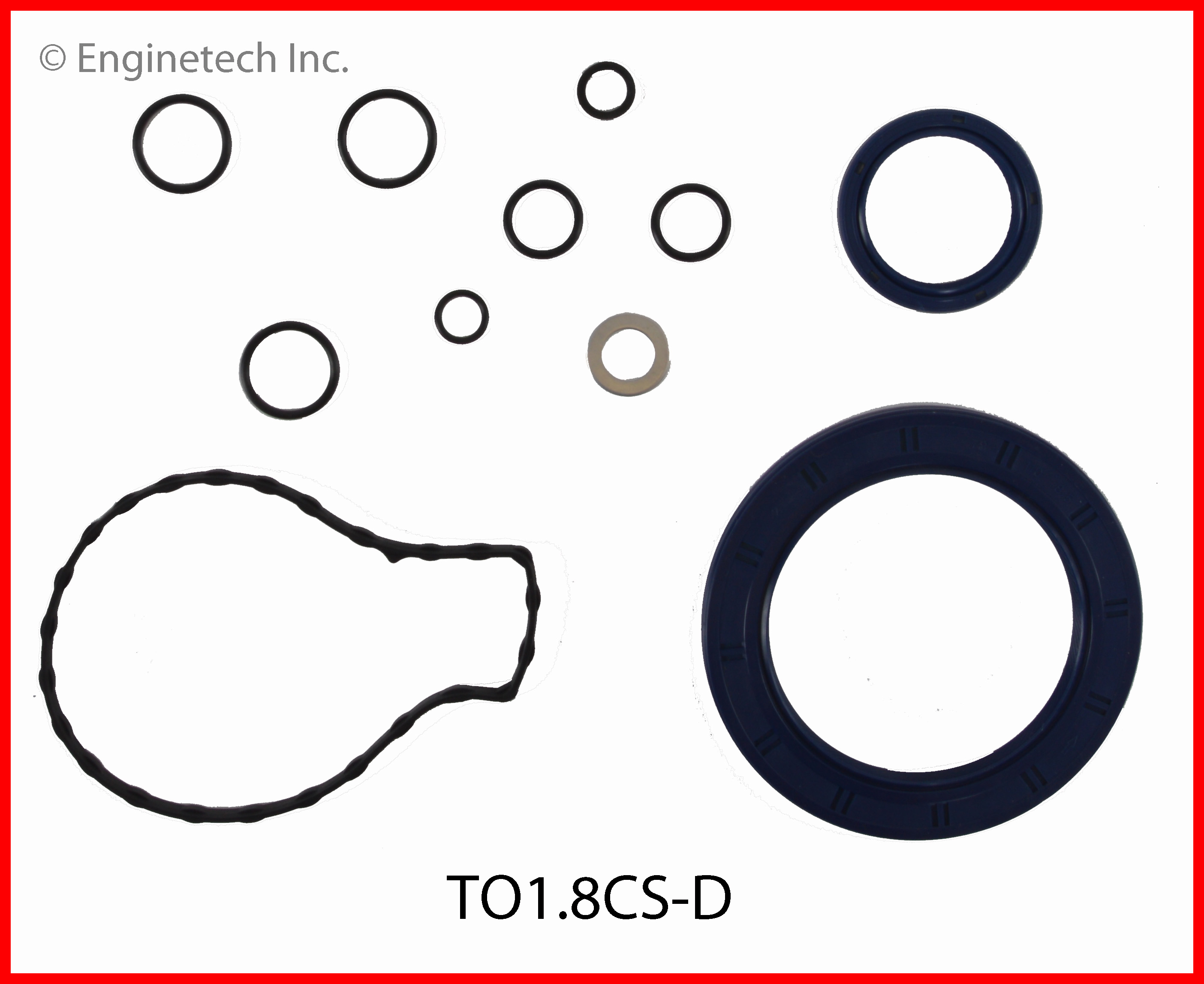 TO1.8CS-D Gasket Set - Lower Enginetech