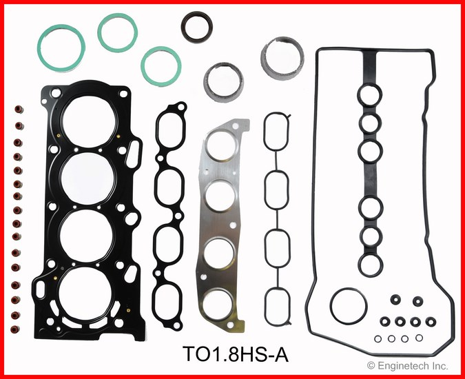 TO1.8HS-A Gasket Set - Head Enginetech