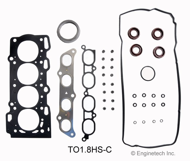 TO1.8HS-C Gasket Set - Head Enginetech