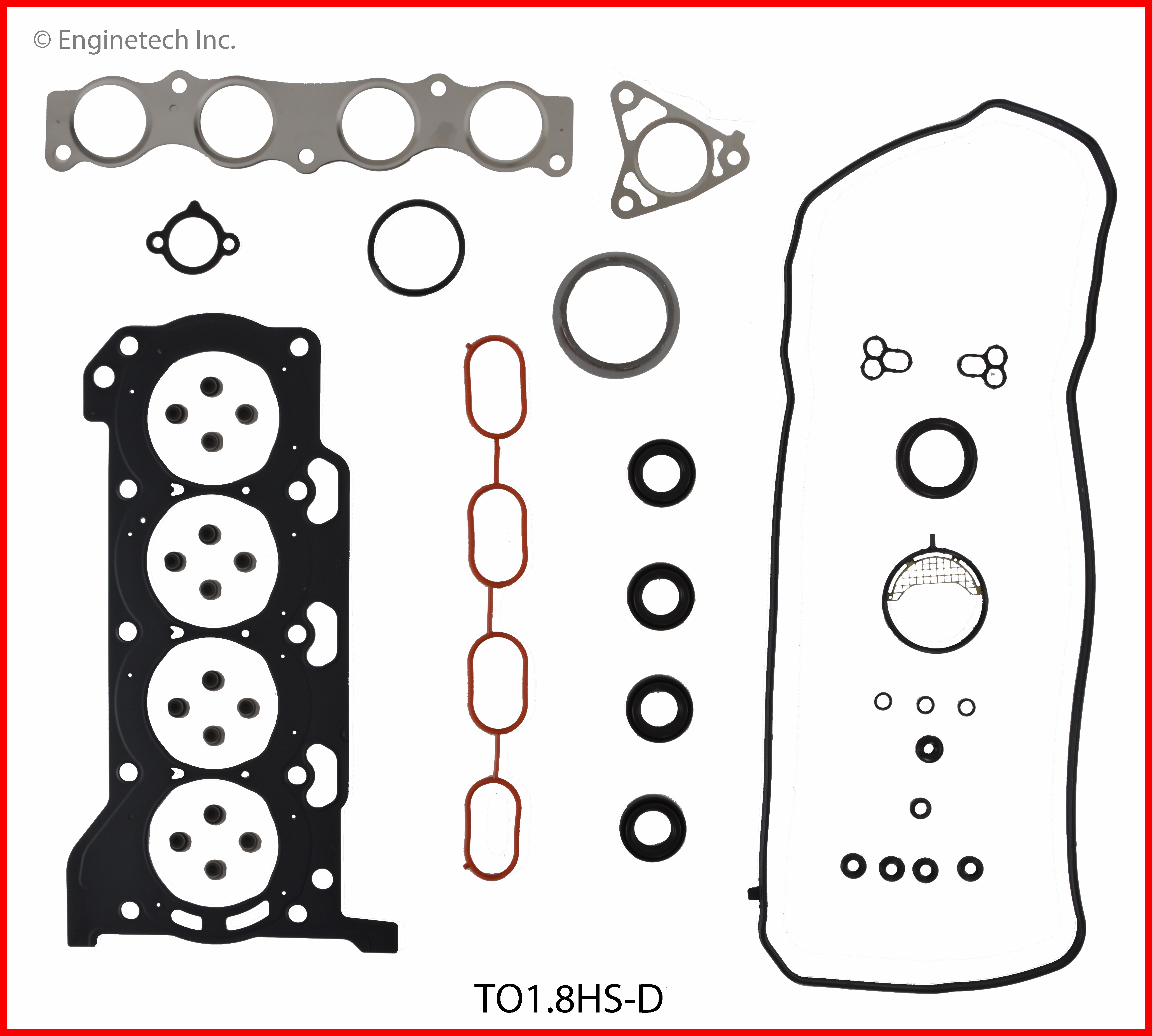 TO1.8HS-D Gasket Set - Head Enginetech