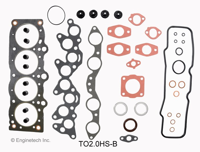 TO2.0HS-B Gasket Set - Head Enginetech