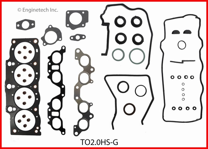 TO2.0HS-G Gasket Set - Head Enginetech