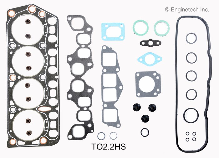 TO2.2HS Gasket Set - Head Enginetech