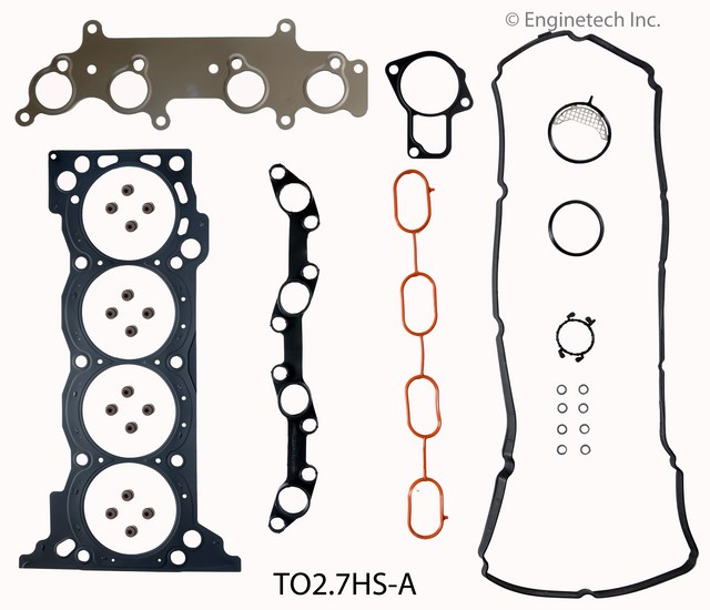 TO2.7HS-A Gasket Set - Head Enginetech