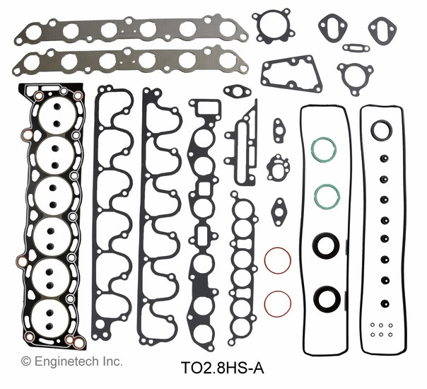 TO2.8HS-A Gasket Set - Head Enginetech