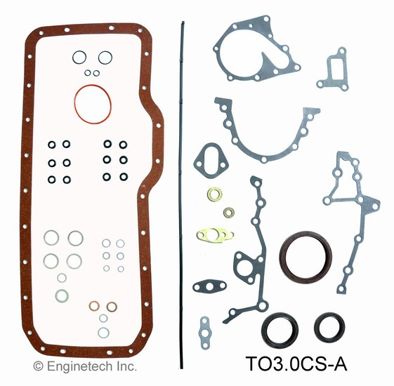 TO3.0CS-A Gasket Set - Lower Enginetech