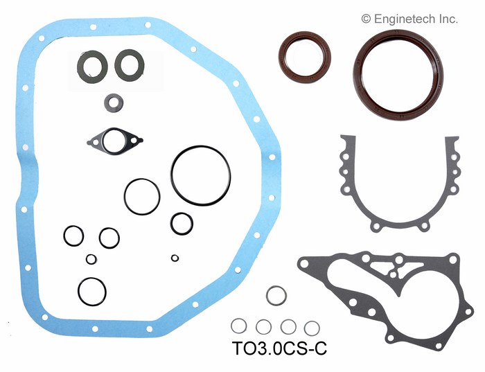 TO3.0CS-C Gasket Set - Lower Enginetech