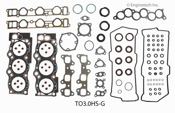 TO3.0HS-G Gasket Set - Head Enginetech