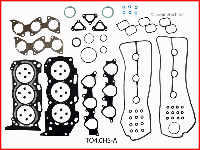 TO4.0HS-A Gasket Set - Head Enginetech