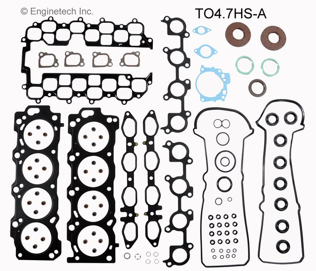 TO4.7HS-A Gasket Set - Head Enginetech